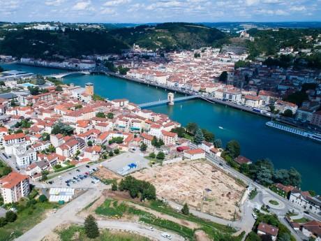 Vue aérienne du site - DR David Baldassari / Archeodunum