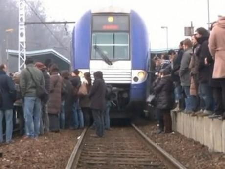 Une action similaire avait eu lieu à Givors le 17 janvier 2012 - Photo DR