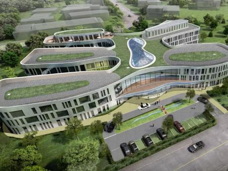 Le futur immeuble LINUX- DR