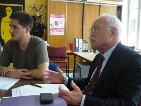 Thomas Rigaud et Jean-Louis Touraine - LyonMag.com