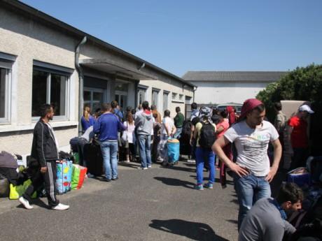 Les réfugiés se sont retrouvés à Décines, près de Lyon - LyonMag.com