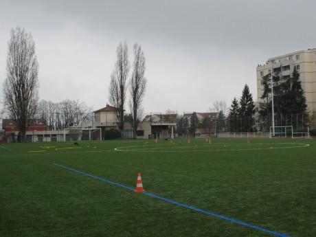 Le stade Grégory Coupet entièrement rénové - Lyonmag.com