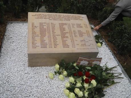 La stèle de la place Carnot à Lyon en la mémoire de la rafle des enfants d'Izieu - LyonMag