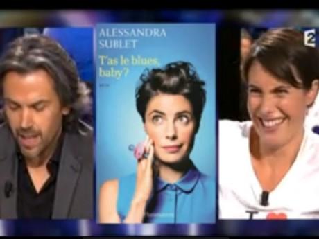 Alessandra Sublet a préféré prendre la chose avec le sourire - DR