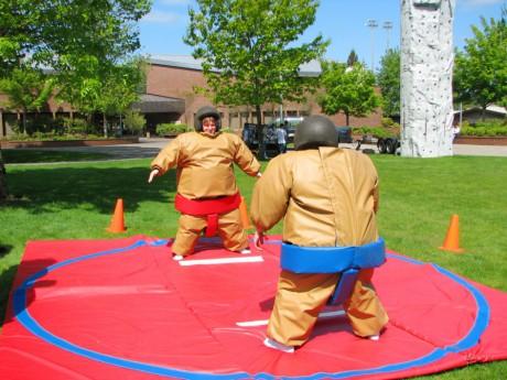 Jouez les sumos dimanche au Lyon Hanabi 2 - DR