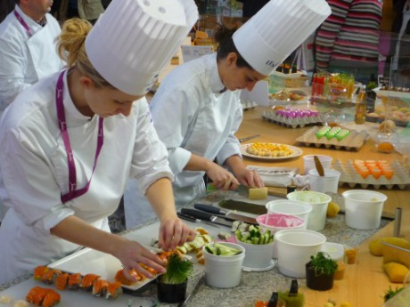 Collomb fait du Sirha l'étendard de la gastronomie lyonnaise - Photo LyonMag