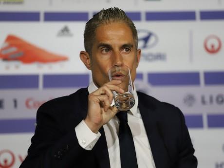 L'entraîneur lyonnais Sylvinho - LyonMag