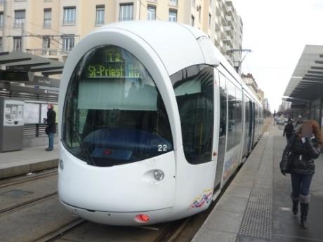 Le tram T2 - Photo LyonMag