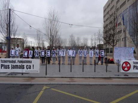 Une vingtaine de manifestants dans le cours Charlemagne ce samedi - LyonMag