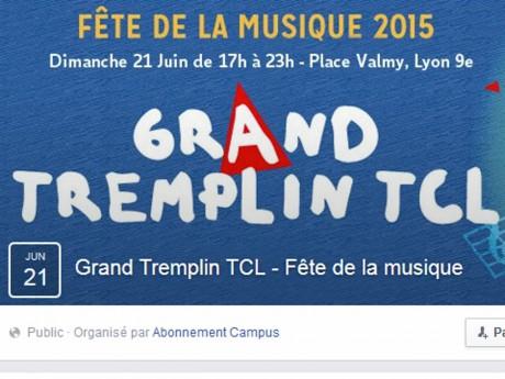 Capture d'écran de la page Facebook de l'évenement - LyonMag