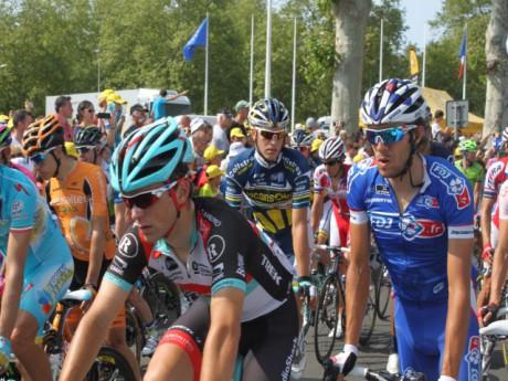 L'arrivée du Tour de France à Lyon aux abords du stade de Gerland - LyonMag