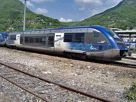La ligne TER Lyon - Grenoble
