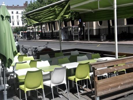Terrasse de restaurant à Lyon - Photo LyonMag.com