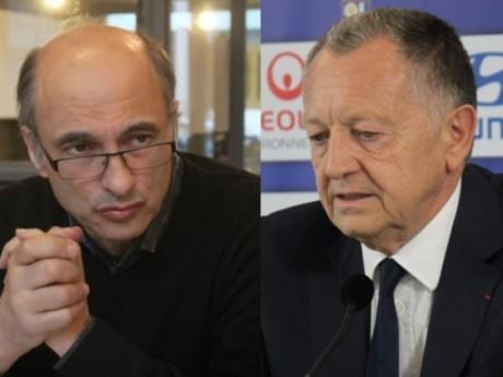 Etienne Tête et Jean-Michel Aulas - Montage LyonMag