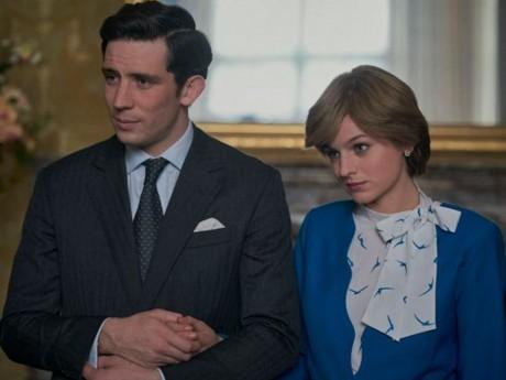 Le prince Charles (Josh O'Connor) et la princesse Diana (Emma Corrin) - DR