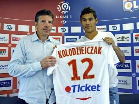 En 2008, à seulement 17 ans, Kolo avait couté la bagatelle de 3M d'euros à l'OL - DR