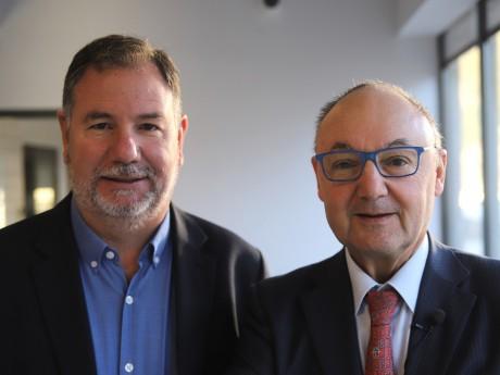 Francis Thomine et Gérard Angel - LyonMag