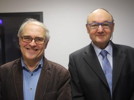 Gilles Thevenon et Gérard Angel - LyonMag