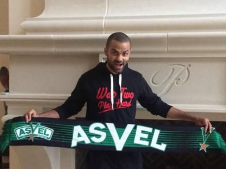 Tony Parker assistera au dernier match de la saison régulière de l'ASVEL à l'Astroballe - DR