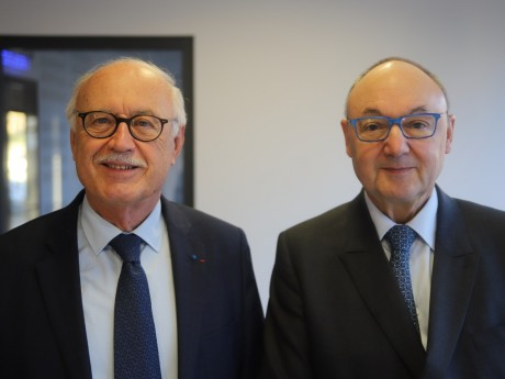 Jean-Louis Touraine et Gérard Angel - LyonMag