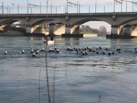 Les nageurs dimanche matin - LyonMag.com