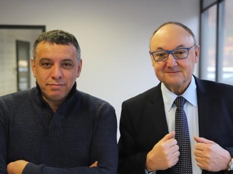 Mohamed Tria et Gérard Angel - LyonMag
