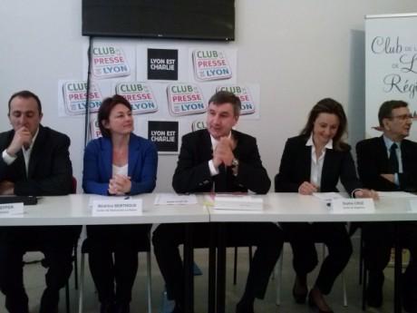 Christophe Guilloteau (au centre) - LyonMag