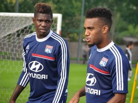 Samuel Umtiti (avant son départ au Barça) et Alexandra Lacazette ont tous les deux été formés à l'OL - Lyonmag.com