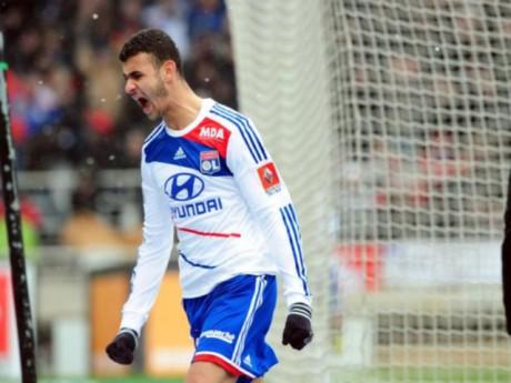 Ghezzal  a marqué à la 50e minute faisant prendre l'avantage aux Lyonnais - DR/Foot 01