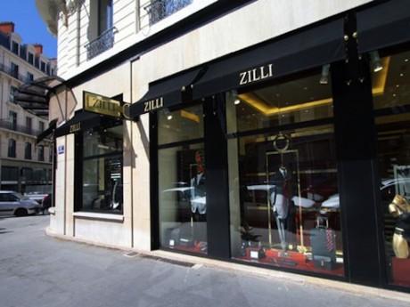 L'ancienne boutique Zilli dans le quartier Grôlée de Lyon - DR