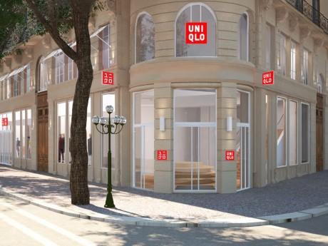 Le futur magasin lyonnais - DR UNIQLO