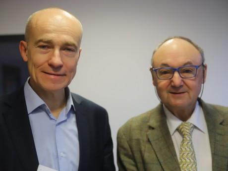 Jean-Pierre Vacher et Gérard Angel - LyonMag