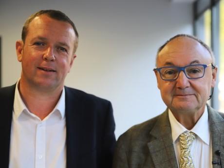 Cédric Van Styvendael et Gérard Angel - LyonMag