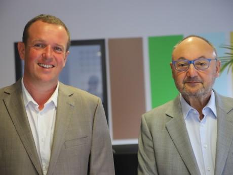 Cédric Van Styvendael et Gérard Angel - LyonMag.com