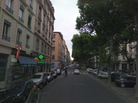 La rue Vendôme - DR Google