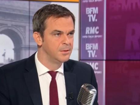 Olivier Véran ce mardi matin - Capture d'écran BFM-TV