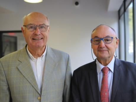 Michel Vergnaud et Gérard Angel - LyonMag