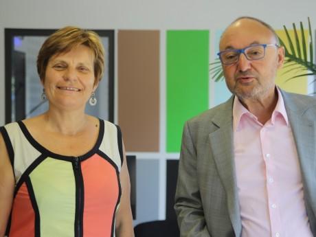 Béatrice Vessiller et Gérard Angel - LyonMag.com