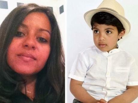 Olfa, née à Lyon en 1985, et son fils, tués à Nice le 14 juillet - DR