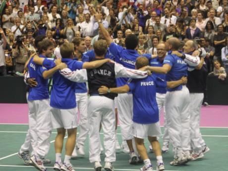 L'équipe de France en Coupe Davis à Lyon, mais en 2010 - LyonMag
