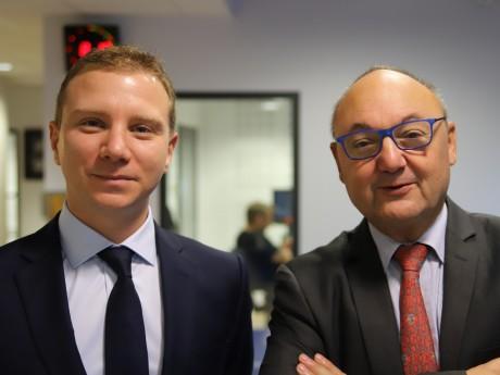 Alexandre Vincendet et Gérard Angel - LyonMag