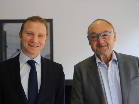Alexandre Vincendet et Gérard Angel - LyonMag.com