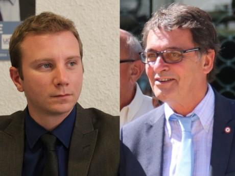 Alexandre Vincendet et Renaud Gauquelin - Montage LyonMag