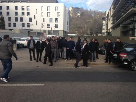 Manifestation de VTC contre Uber à Lyon - LyonMag.com