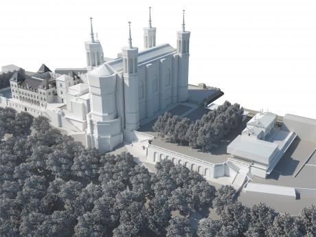 Le nouveau site de Fourvière en 2020 - DR SUD architectes cabinet RL&A