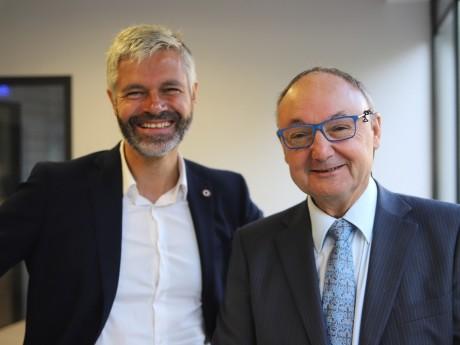 Laurent Wauquiez et Gérard Angel - LyonMag