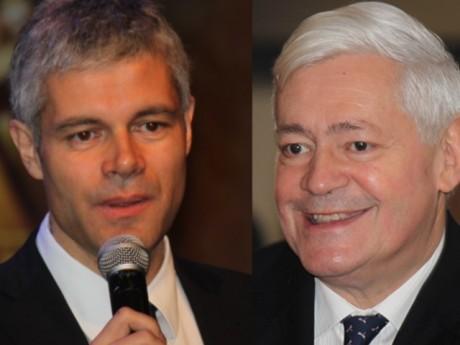Laurent Wauquiez et Bruno Gollnisch - LyonMag