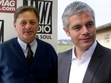 Cyrille Isaac Sibille et Laurent Wauquiez - LyonMag.com