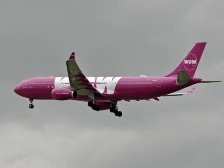 Avion Wow Air - DR