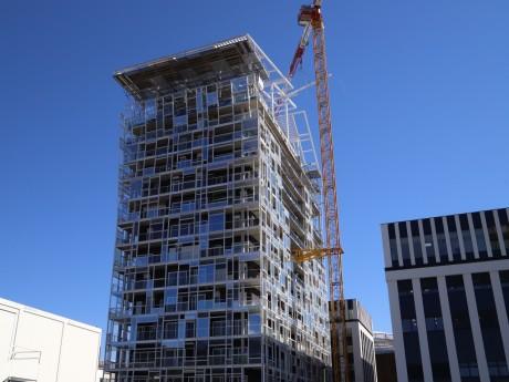 La face sud de l'immeuble Ycone - LyonMag